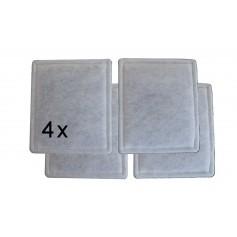 Lot de 4 filtres G4 pour Dee fly cube 300 / 370 Aldes
