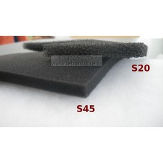 Mousse alvéolaire bulpren S45 en 10 mm