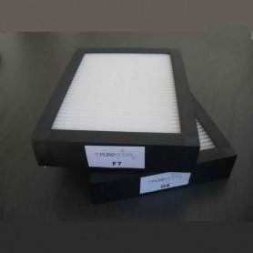 Kit rechange 2 filtres G4 + F7 Modulo sans Bypass